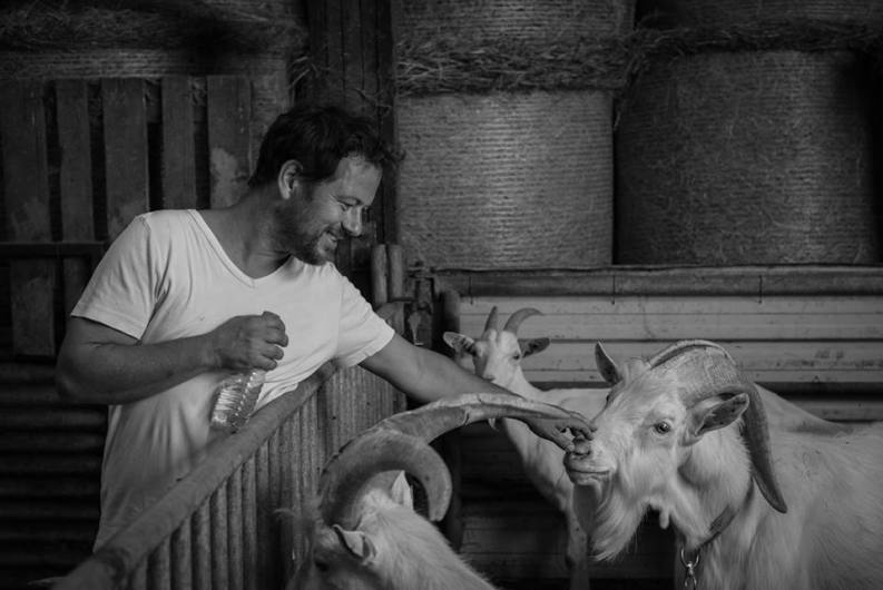 Sébastien Bedel - Eleveur de chèvre et fromager à Longes (69)