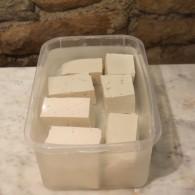 blocs de tofu frais- bis