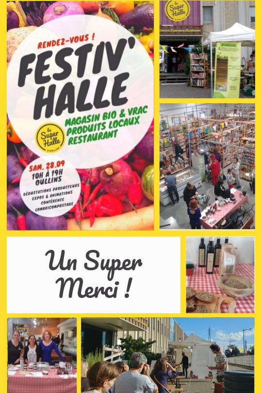 Festiv'Halle 2018 _ Un Super Merci